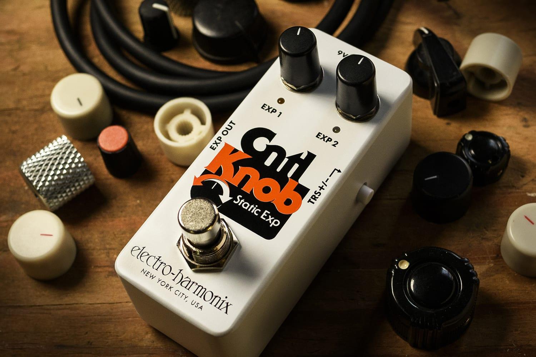 Electro-Harmonix Introduces the Cntl Knob