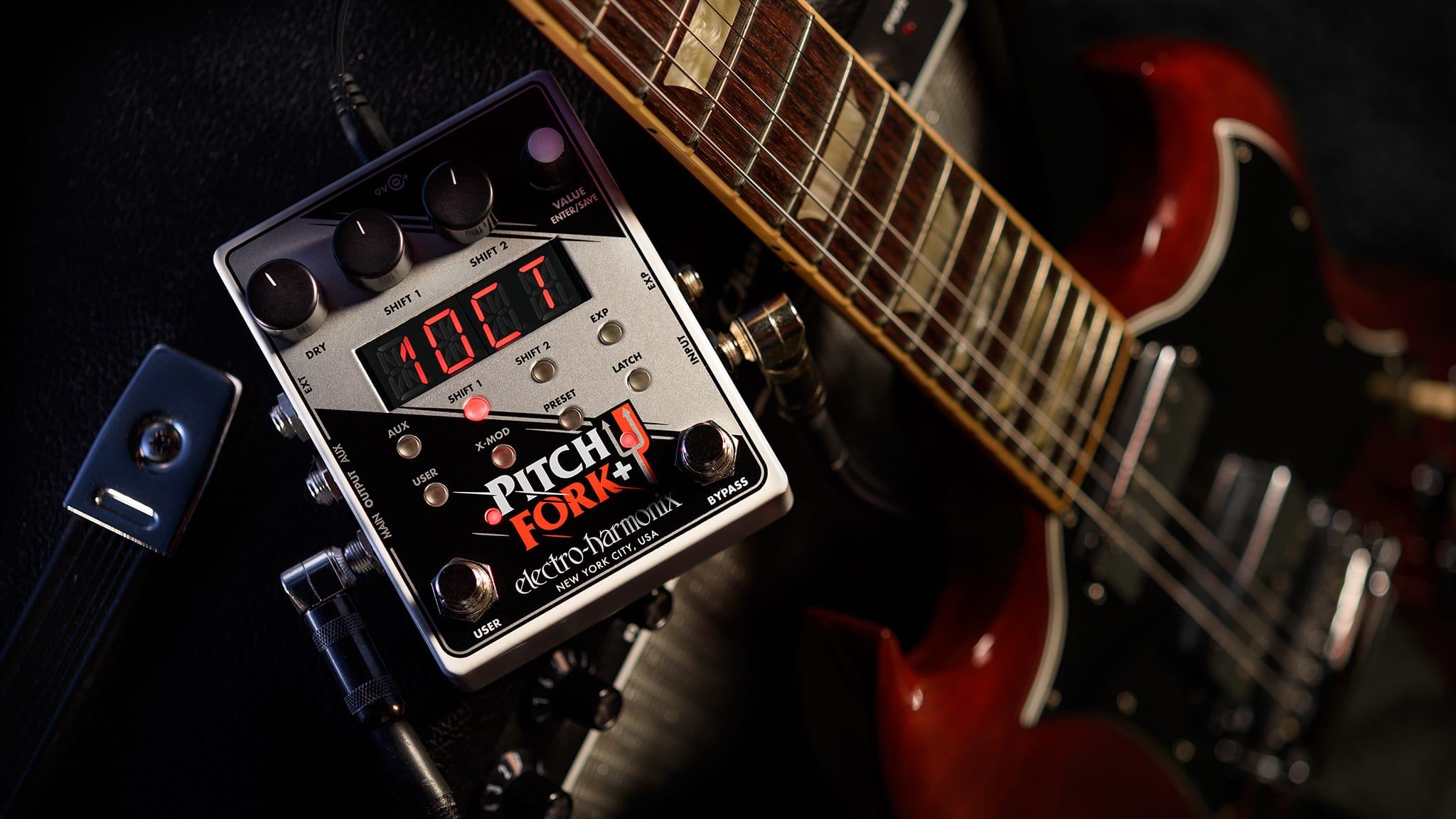 Electro-Harmonix Launches the Pitch Fork®+